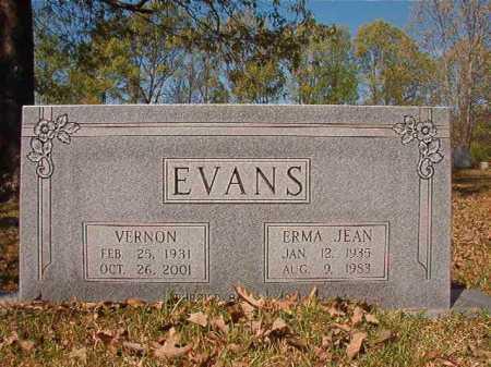 EVANS, ERMA JEAN - Calhoun County, Arkansas | ERMA JEAN EVANS - Arkansas Gravestone Photos