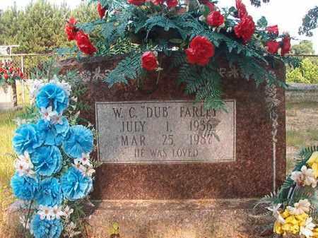 "FARLEY, W C ""DUB"" - Calhoun County, Arkansas | W C ""DUB"" FARLEY - Arkansas Gravestone Photos"