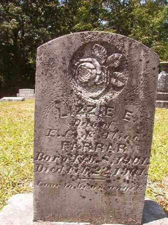 FARRAR, LIZZIE E - Calhoun County, Arkansas | LIZZIE E FARRAR - Arkansas Gravestone Photos