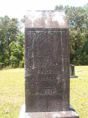 FARRIS, ALBERT THOMAS - Calhoun County, Arkansas | ALBERT THOMAS FARRIS - Arkansas Gravestone Photos