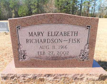 FISK, MARY ELIZABETH - Calhoun County, Arkansas | MARY ELIZABETH FISK - Arkansas Gravestone Photos
