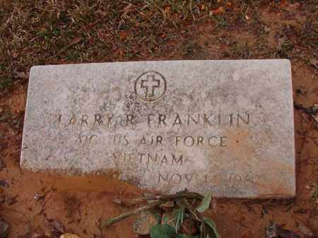 FRANKLIN (VETERAN VIET), LARRY R - Calhoun County, Arkansas | LARRY R FRANKLIN (VETERAN VIET) - Arkansas Gravestone Photos