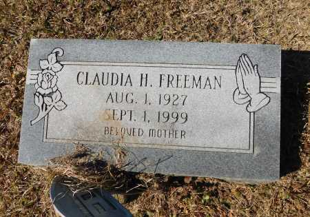 FREEMAN, CLAUDIA - Calhoun County, Arkansas | CLAUDIA FREEMAN - Arkansas Gravestone Photos