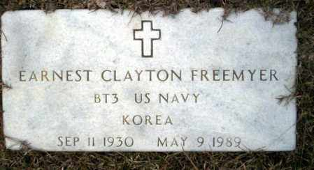 FREEMYER  (VETERAN KOR), EARNEST CLAYTON - Calhoun County, Arkansas | EARNEST CLAYTON FREEMYER  (VETERAN KOR) - Arkansas Gravestone Photos