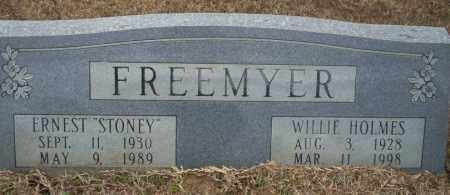 HOLMES FREEMYER, WILLIE - Calhoun County, Arkansas | WILLIE HOLMES FREEMYER - Arkansas Gravestone Photos
