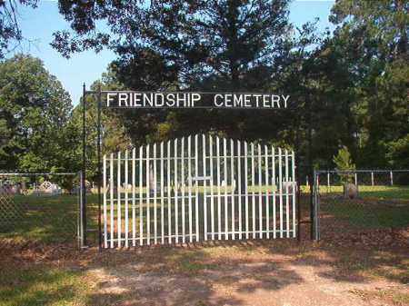*FRIENDSHIP CEMETERY GATE,  - Calhoun County, Arkansas |  *FRIENDSHIP CEMETERY GATE - Arkansas Gravestone Photos