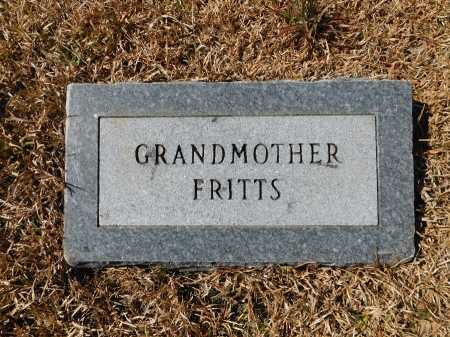 FRITTS, GRANDMOTHER - Calhoun County, Arkansas | GRANDMOTHER FRITTS - Arkansas Gravestone Photos