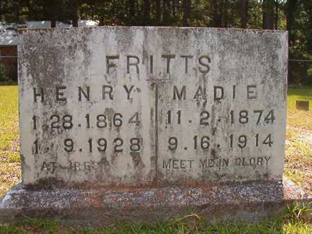FRITTS, MADIE - Calhoun County, Arkansas | MADIE FRITTS - Arkansas Gravestone Photos