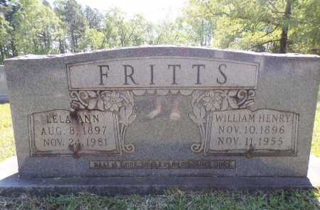 FRITTS, LELA ANN - Calhoun County, Arkansas | LELA ANN FRITTS - Arkansas Gravestone Photos