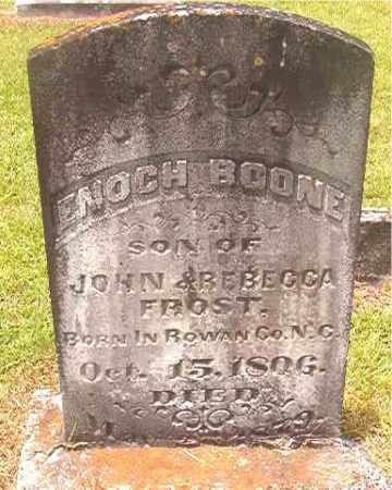 FROST, ENOCH BOONE - Calhoun County, Arkansas | ENOCH BOONE FROST - Arkansas Gravestone Photos