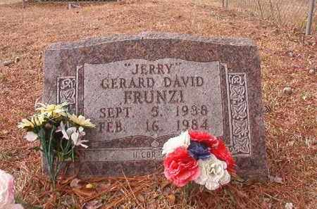 "FRUNZI, GERARD DAVID ""JERRY"" - Calhoun County, Arkansas 