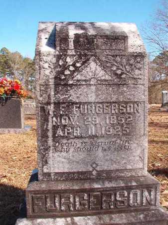 FURGERSON, W F - Calhoun County, Arkansas | W F FURGERSON - Arkansas Gravestone Photos