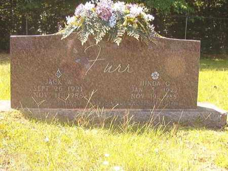 FURR, HINDA C - Calhoun County, Arkansas | HINDA C FURR - Arkansas Gravestone Photos