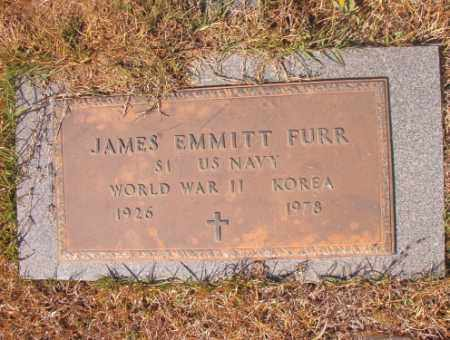 FURR (VETERAN 2 WARS), JAMES EMMITT - Calhoun County, Arkansas | JAMES EMMITT FURR (VETERAN 2 WARS) - Arkansas Gravestone Photos