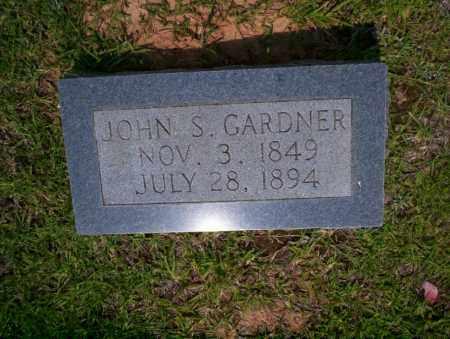 GARDNER, JOHN S - Calhoun County, Arkansas | JOHN S GARDNER - Arkansas Gravestone Photos