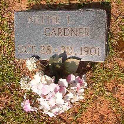 GARDNER, NETTIE I - Calhoun County, Arkansas | NETTIE I GARDNER - Arkansas Gravestone Photos