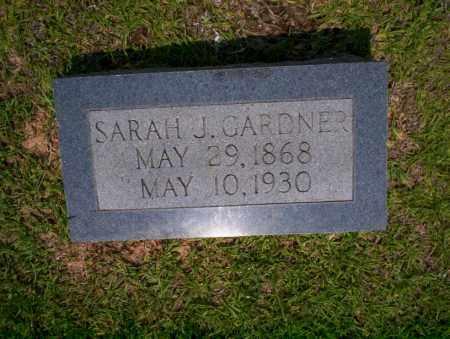 GARDNER, SARAH J - Calhoun County, Arkansas | SARAH J GARDNER - Arkansas Gravestone Photos