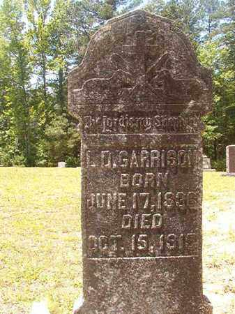 GARRISON, L D - Calhoun County, Arkansas | L D GARRISON - Arkansas Gravestone Photos