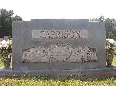 GARRISON, MARY W - Calhoun County, Arkansas | MARY W GARRISON - Arkansas Gravestone Photos