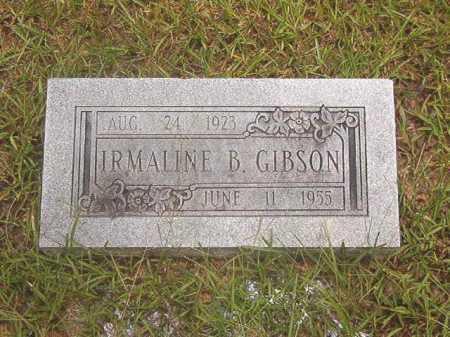 GIBSON, IRMALINE B - Calhoun County, Arkansas | IRMALINE B GIBSON - Arkansas Gravestone Photos