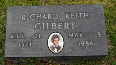 GILBERT, RICHARD KEITH - Calhoun County, Arkansas | RICHARD KEITH GILBERT - Arkansas Gravestone Photos