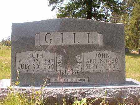 GILL, RUTH - Calhoun County, Arkansas | RUTH GILL - Arkansas Gravestone Photos