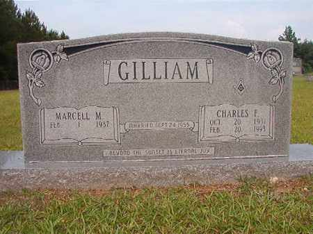 GILLIAM, CHARLES F - Calhoun County, Arkansas | CHARLES F GILLIAM - Arkansas Gravestone Photos