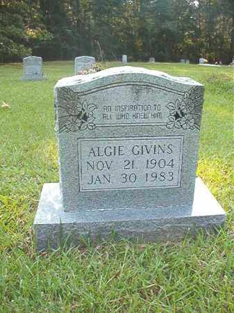 GIVINS, ALGIE - Calhoun County, Arkansas | ALGIE GIVINS - Arkansas Gravestone Photos