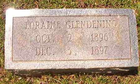 GLENDENING, LORAINE - Calhoun County, Arkansas | LORAINE GLENDENING - Arkansas Gravestone Photos