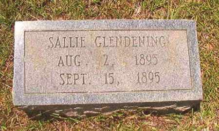 GLENDENING, SALLIE - Calhoun County, Arkansas | SALLIE GLENDENING - Arkansas Gravestone Photos