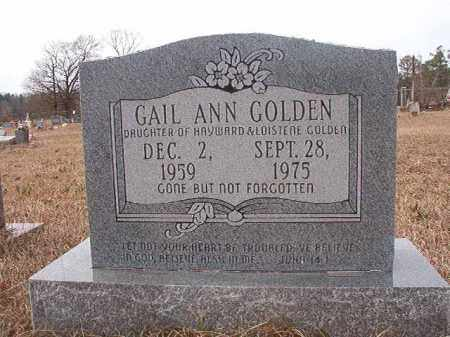 GOLDEN, GAIL ANN - Calhoun County, Arkansas | GAIL ANN GOLDEN - Arkansas Gravestone Photos