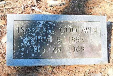 GOODWIN, ISABELLA - Calhoun County, Arkansas | ISABELLA GOODWIN - Arkansas Gravestone Photos