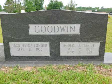 GOODWIN, JR, ROBERT LUCIAN - Calhoun County, Arkansas | ROBERT LUCIAN GOODWIN, JR - Arkansas Gravestone Photos