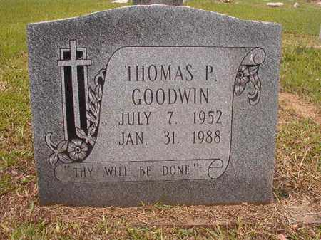 GOODWIN, THOMAS P - Calhoun County, Arkansas | THOMAS P GOODWIN - Arkansas Gravestone Photos