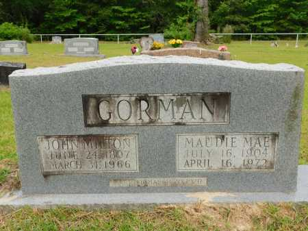 GORMAN, MAUDIE MAE - Calhoun County, Arkansas | MAUDIE MAE GORMAN - Arkansas Gravestone Photos