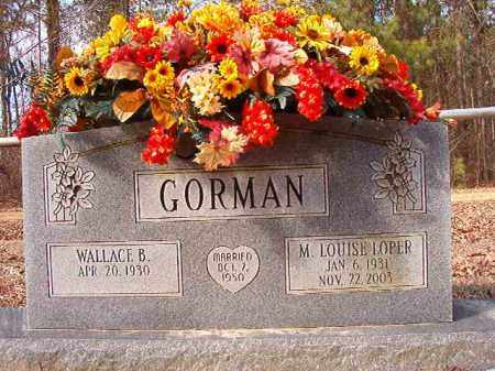 GORMAN, M LOUISE - Calhoun County, Arkansas | M LOUISE GORMAN - Arkansas Gravestone Photos
