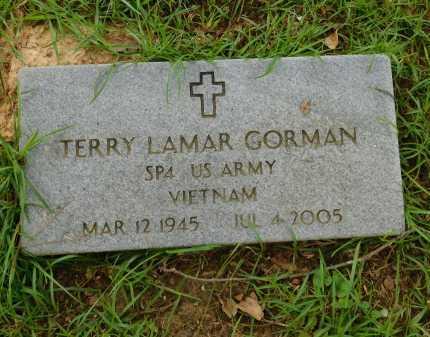 GORMAN (VETERAN VIET), TERRY LAMAR - Calhoun County, Arkansas   TERRY LAMAR GORMAN (VETERAN VIET) - Arkansas Gravestone Photos