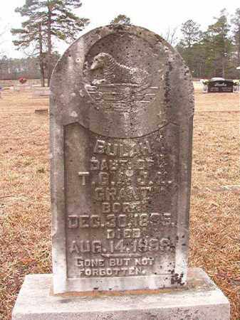 GRANT, BULAH - Calhoun County, Arkansas | BULAH GRANT - Arkansas Gravestone Photos