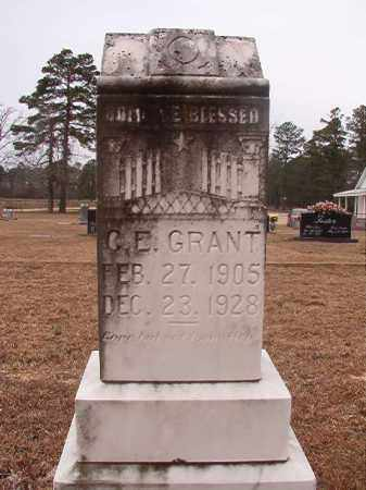 GRANT, C E - Calhoun County, Arkansas | C E GRANT - Arkansas Gravestone Photos