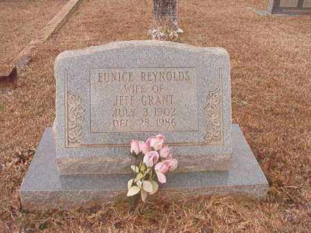 REYNOLDS GRANT, EUNICE - Calhoun County, Arkansas | EUNICE REYNOLDS GRANT - Arkansas Gravestone Photos