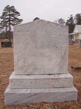 GRANT, T G - Calhoun County, Arkansas | T G GRANT - Arkansas Gravestone Photos