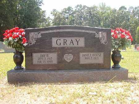 GRAY, FAY H - Calhoun County, Arkansas | FAY H GRAY - Arkansas Gravestone Photos
