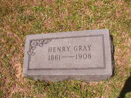 GRAY, HENRY - Calhoun County, Arkansas | HENRY GRAY - Arkansas Gravestone Photos