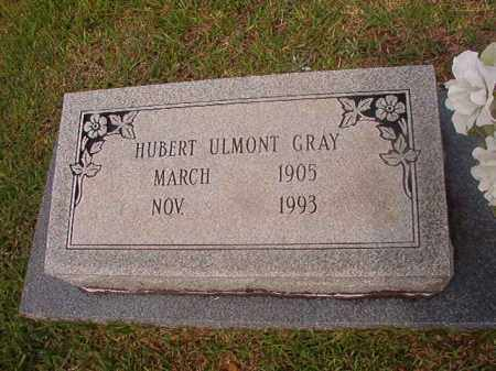 GRAY, HUBERT ULMONT - Calhoun County, Arkansas | HUBERT ULMONT GRAY - Arkansas Gravestone Photos