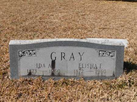 GRAY, ELISHA F - Calhoun County, Arkansas | ELISHA F GRAY - Arkansas Gravestone Photos