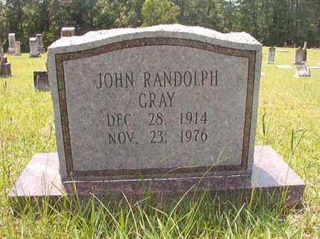 GRAY, JOHN RANDOLPH - Calhoun County, Arkansas | JOHN RANDOLPH GRAY - Arkansas Gravestone Photos