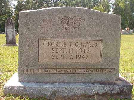 GRAY, JR, GEORGE T - Calhoun County, Arkansas | GEORGE T GRAY, JR - Arkansas Gravestone Photos