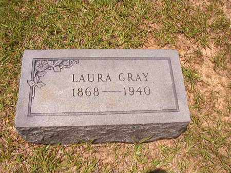 GRAY, LAURA - Calhoun County, Arkansas | LAURA GRAY - Arkansas Gravestone Photos