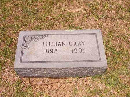 GRAY, LILLIAN - Calhoun County, Arkansas | LILLIAN GRAY - Arkansas Gravestone Photos