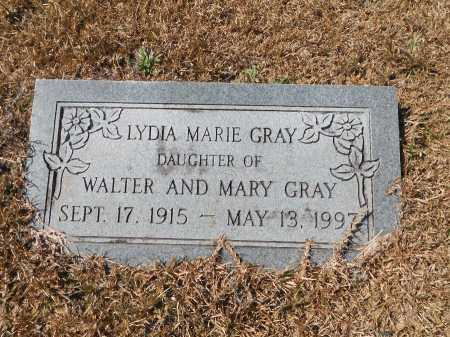 GRAY, LYDIA MARIE - Calhoun County, Arkansas | LYDIA MARIE GRAY - Arkansas Gravestone Photos